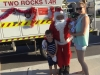 Two Rocks Santa (Buster) no child is too young for lollies