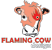 flamingcow design logo